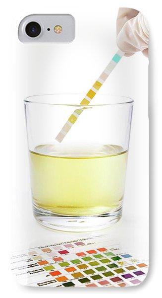 Urine Home Test Kit IPhone Case