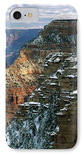 Usa, Arizona, View Of Grand Canyon IPhone Case by Adam Jones