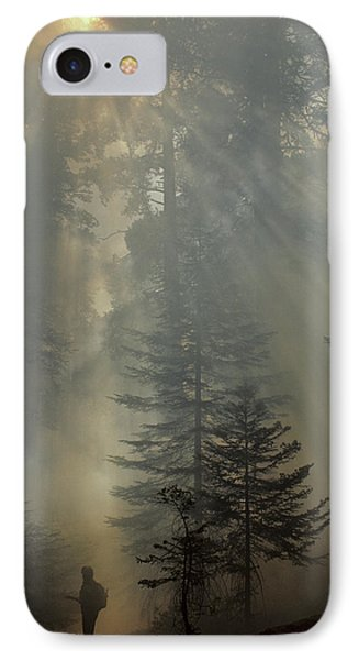 Usa, California, Forest Fire, Sequoia IPhone Case