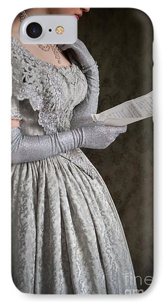 Victorian Woman Reading A Letter IPhone Case