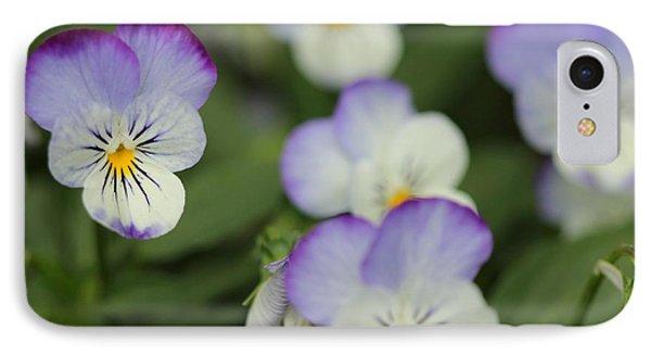 Viola Named Sorbet Lemon Blueberry Swirl Phone Case by J McCombie