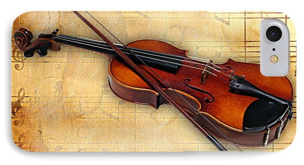 Violin Collection IPhone Case by Marvin Blaine