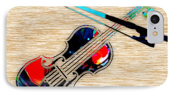 Violin IPhone Case by Marvin Blaine