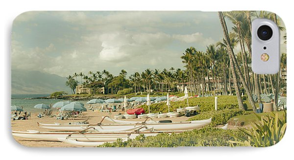 Wailea Beach Maui Hawaii IPhone Case by Sharon Mau