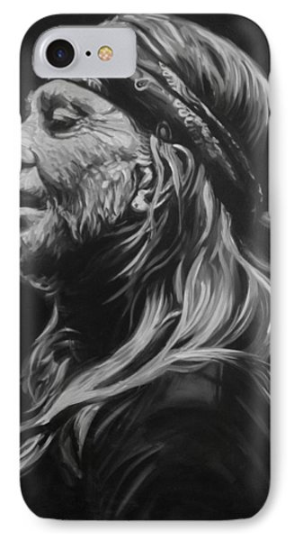 Willie Nelson  IPhone Case by Steve Hunter