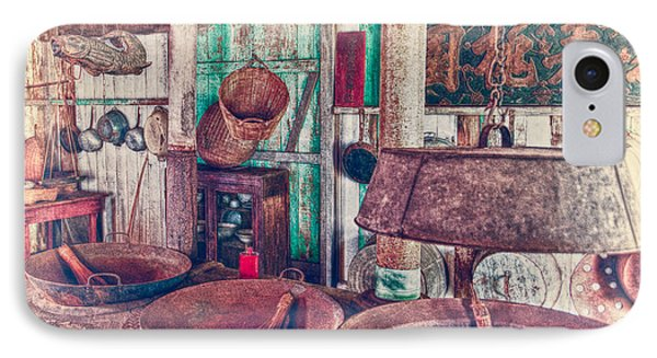 IPhone Case featuring the photograph 3-wok Kitchen by Jim Thompson