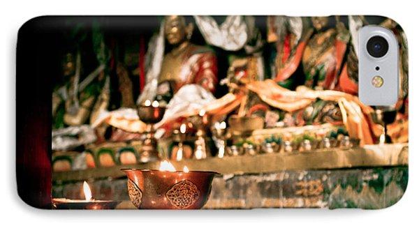 Zuthrul Phug Monastery Milarepas Cave Phone Case by Raimond Klavins