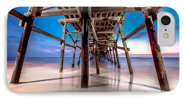 30 Seconds Under San Clemente Pier IPhone Case by Robert  Aycock