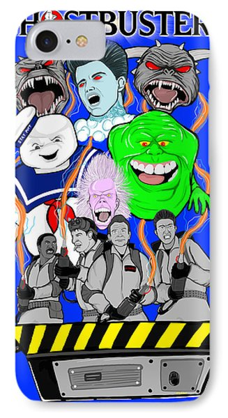30 Years Of Ghostbusters Phone Case by Gary Niles