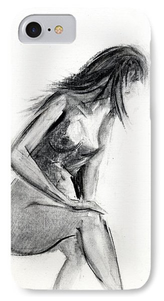 Nudes iPhone 7 Case - Rcnpaintings.com by Chris N Rohrbach
