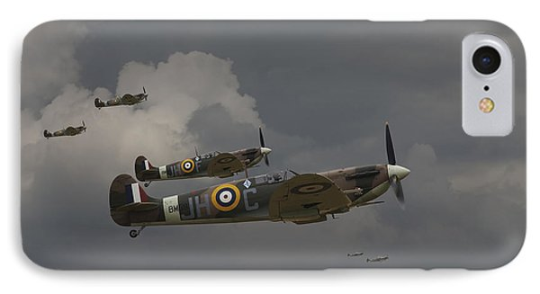 317 Polish Squadron IPhone Case by Pat Speirs
