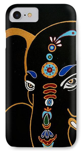 32 Gajakarna Ganesh IPhone Case