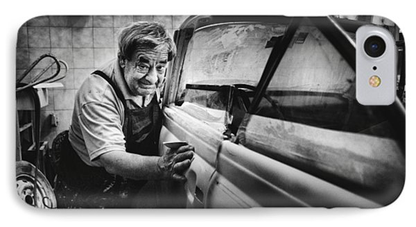 Truck iPhone 7 Case - Untitled by Antonio Grambone