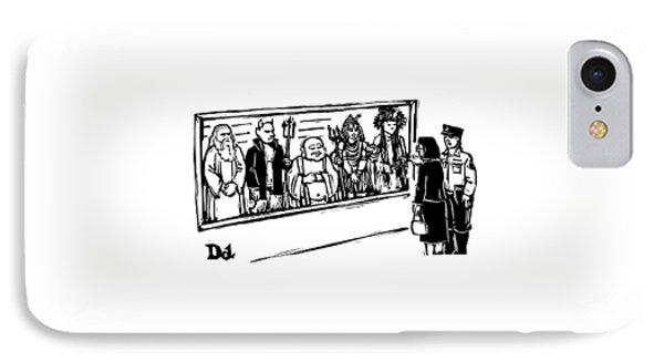 New Yorker June 2nd, 2008 IPhone Case by Drew Dernavich