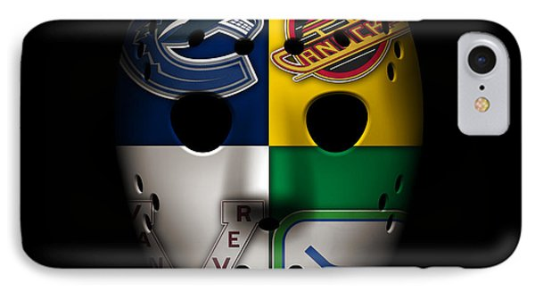 Vancouver Canucks IPhone Case by Joe Hamilton