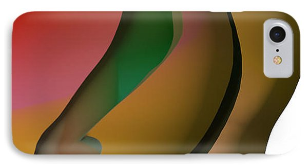 Amants Abstraits IPhone Case by Sir Josef - Social Critic - ART