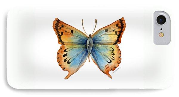 33 Opal Copper Butterfly Phone Case by Amy Kirkpatrick