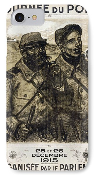 World War I French Poster IPhone Case