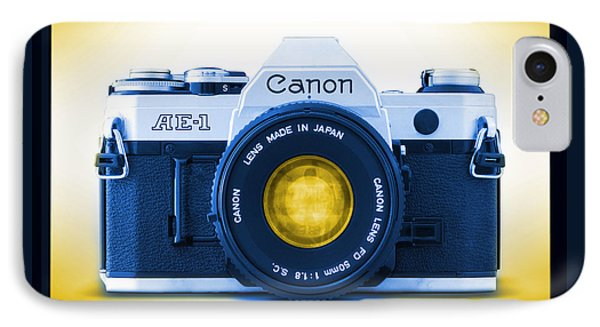 35mm Blues Canon Ae-1 IPhone Case