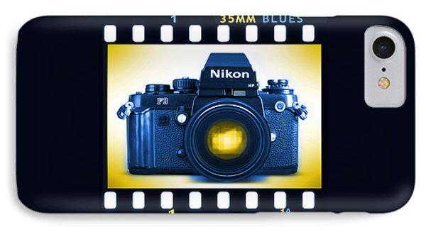 35mm Blues Nikon F-3hp Phone Case by Mike McGlothlen