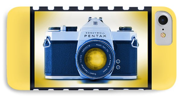35mm Blues Pentax Spotmatic Phone Case by Mike McGlothlen