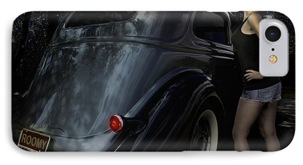 36 Ford Sedan Roomy With A View IPhone Case