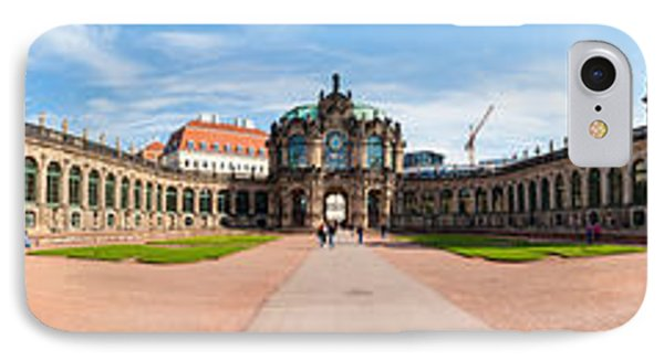 360 Degree View Of Zwinger Palace IPhone Case