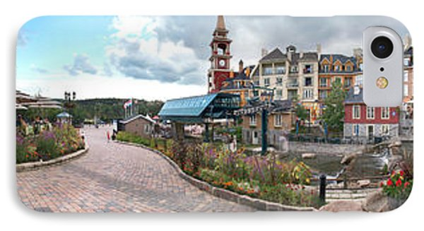 360 View Panorama, Mont-tremblant Phone Case by Henry Lin