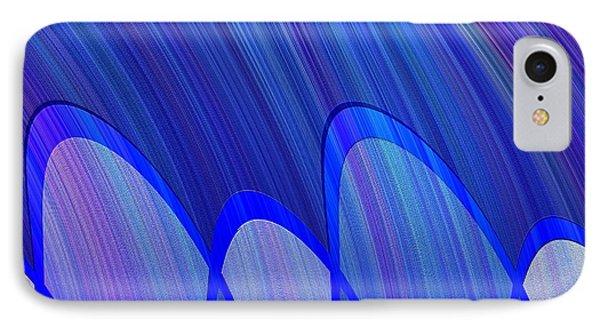 362 - Lucid Blue 3 IPhone Case