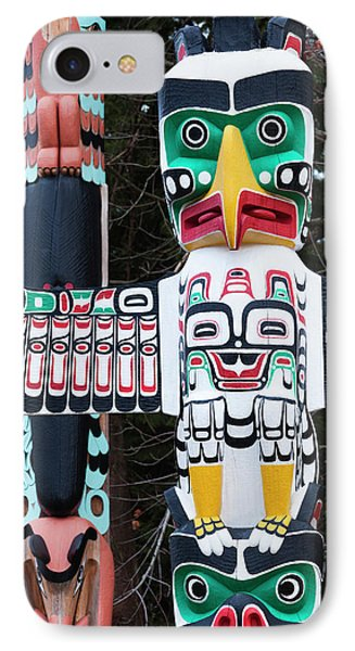 Canada, British Columbia, Vancouver IPhone Case by Walter Bibikow