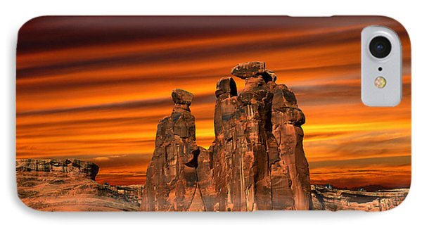 3712 IPhone Case by Peter Holme III
