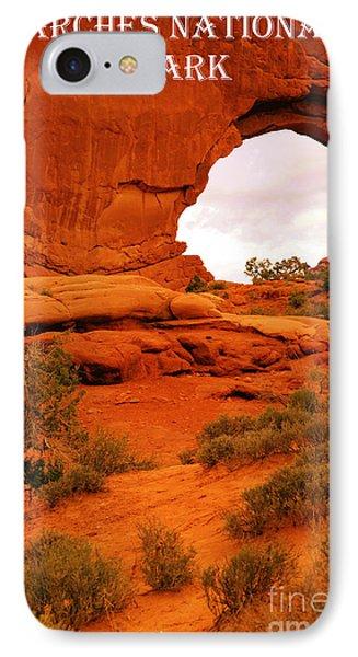 Arches National Park IPhone Case by Sophie Vigneault