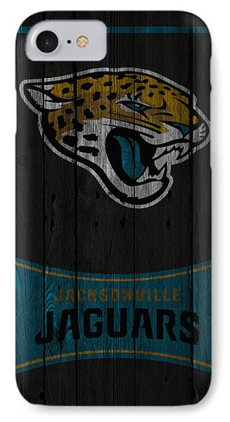 Jacksonville Jaguars IPhone Case by Joe Hamilton