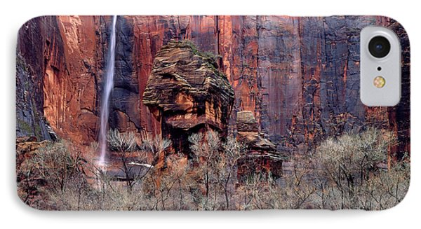Zion National Park, Utah IPhone Case by Scott T. Smith