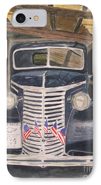 39 Chevy Phone Case by Peggy Dickerson