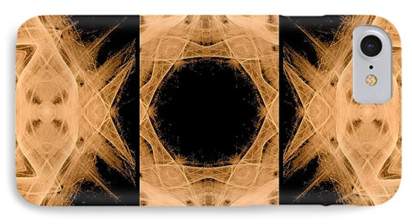 3d Abstract Fractal Phone Case by Maggie Vlazny