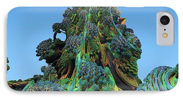 3d Fractal Landscape IPhone Case by David Parker