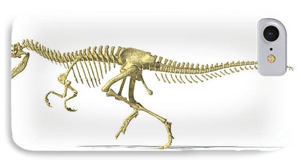 3d Rendering Of An Allosaurus Dinosaur IPhone Case by Leonello Calvetti
