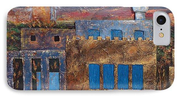 3d Village Phone Case by Amani Al Hajeri