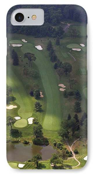 3rd Hole Sunnybrook Golf Club 398 Stenton Avenue Plymouth Meeting Pa 19462 1243 IPhone Case by Duncan Pearson