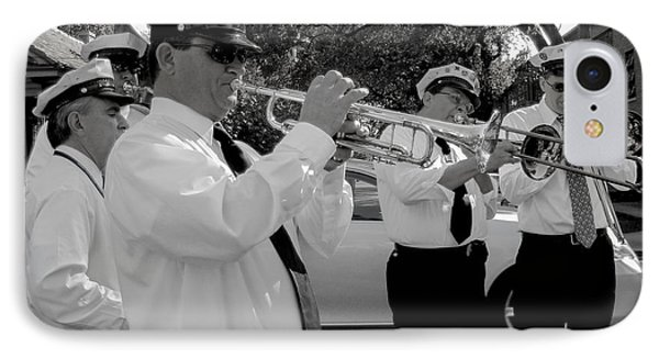 3rd Line Brass Band Second Line Phone Case by Renee Barnes
