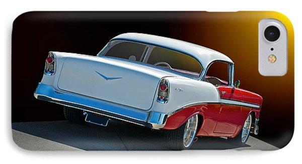 1956 Chevrolet Bel Air Phone Case by Dave Koontz