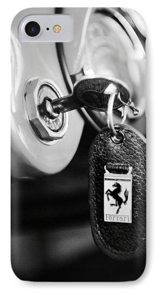 1956 Ferrari 500 Tr Testa Rossa Key Ring IPhone Case