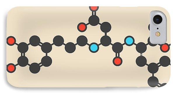Advantame Sugar Substitute Molecule IPhone Case by Molekuul