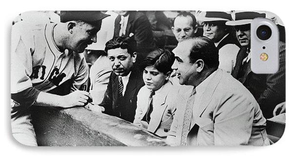 Al Capone (1899-1947) IPhone Case by Granger