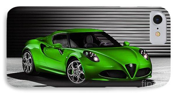 Alfa Romeo IPhone Case by Marvin Blaine