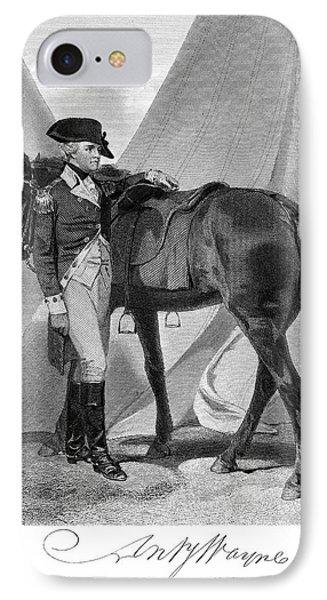 Anthony Wayne (1745-1796) IPhone Case by Granger