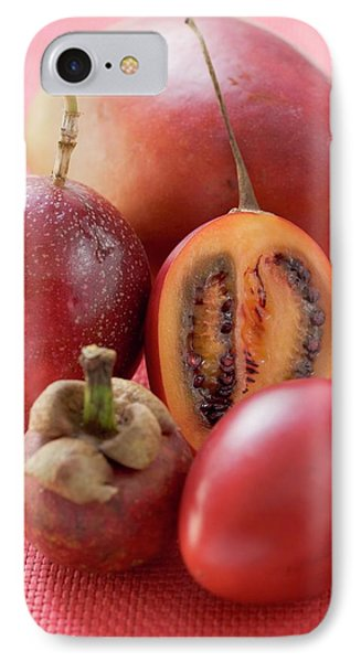 Assorted Exotic Fruits IPhone Case