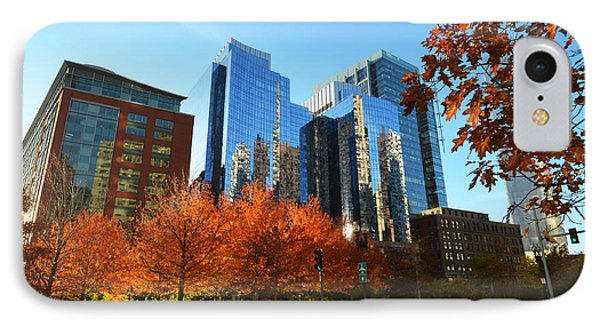 Autumn In Boston IPhone Case by Toby McGuire