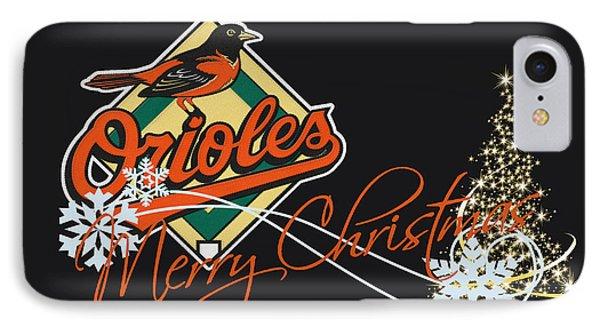 Oriole iPhone 7 Case - Baltimore Orioles by Joe Hamilton